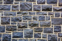 Rectangular Stone Wall Stock Images