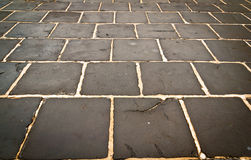 Rectangular stone wet background texture Stock Image