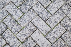Rectangular Stones Texture Outdoor Royalty Free Stock Images