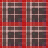 Rectangular tartan seamless texture in muted colors Royalty Free Stock Photography