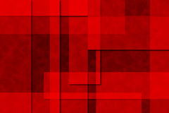 Rectangular Texture Background. Shades of red and black in a textured rectangular abstract background with drop shadows for added depth Stock Image