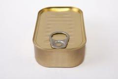 Rectangular tin can Royalty Free Stock Photography