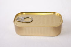 Rectangular tin can Stock Photos