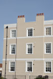 Rectangular Town House Royalty Free Stock Images