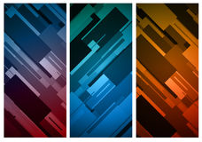 Rectangular vertical banner background Stock Photography