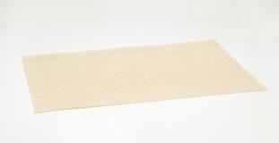 Rectangular vinyl placemat Royalty Free Stock Photo