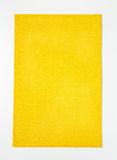 Rectangular yellow placemat Royalty Free Stock Photos
