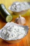Rectification de yaourt images stock