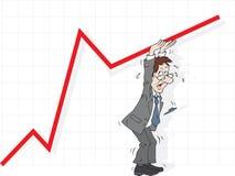 Rectification des statistiques Image libre de droits