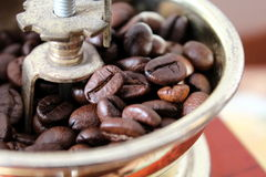 Rectifieuse de café Images libres de droits