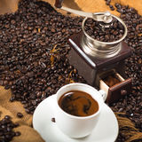 Rectifieuse de café Image stock