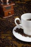 Rectifieuse de sorcière de cuvette de café Photos stock