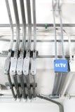 Rectángulo de control eléctrico Fotografía de archivo