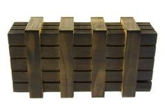 Rectángulo de madera Foto de archivo libre de regalías