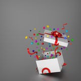 Rectángulo de regalo asombroso Foto de archivo libre de regalías
