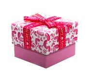 Rectángulo de regalo del amor Imágenes de archivo libres de regalías