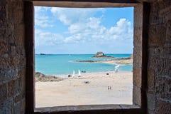 Rectángulo de ventana Foto de archivo
