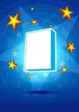 Rectángulo del producto de la estrella Foto de archivo libre de regalías