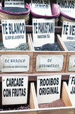 Rectángulos con las hojas de té Fotografía de archivo libre de regalías