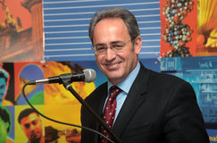 Rector of the Aristotle University Professor John Mylopoulos Royalty Free Stock Images
