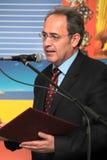 Rector of the Aristotle University Professor John Mylopoulos Royalty Free Stock Photo