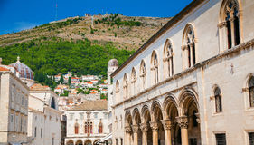 Rector`s Palace in Dubrovnik Royalty Free Stock Image
