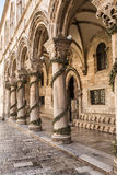 Rector's palace. Dubrovnik. Croatia. Royalty Free Stock Images