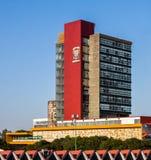 Rectoria Building UNAM (Universidad Nacional Autonoma de Mexico) Royalty Free Stock Photography