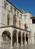 The rectors palace in Dubrovnik Stock Photos