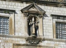 The rectors palace  in Dubrovnik Stock Images