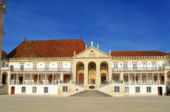 Rectory Building University of Coimbra Stock Images