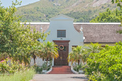 Rectory of the Strooidak (reed roof) church in Paarl Royalty Free Stock Images