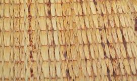 Recubre con caña la estera 02 Foto de archivo