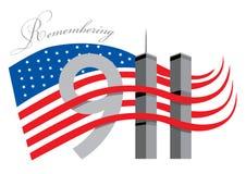 Recuerde 911 Imagen de archivo libre de regalías