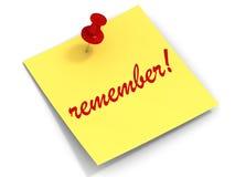 Recuerde la nota Fotografía de archivo