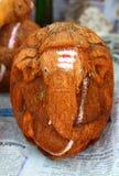 Recuerdo del coco, elefante Foto de archivo