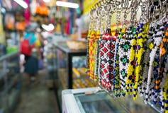 Recuerdo en el mercado filipino Sabah Borneo imagen de archivo libre de regalías