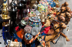 Recuerdo en Souk árabe Fotos de archivo