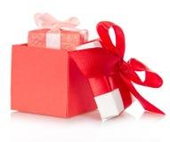 Recuerdo en una caja abierta Fotos de archivo libres de regalías