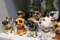 Recuerdo-perro de cerámica Imagen de archivo