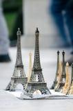 Recuerdos de la torre Eiffel Foto de archivo