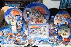 Recuerdos de Santorini Foto de archivo libre de regalías