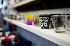 Recuerdos del museo del coche de Route 66 Fotografía de archivo libre de regalías