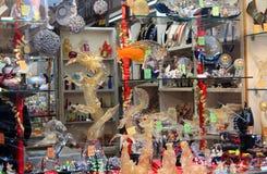 Recuerdos italianos del vidrio veneciano Imagenes de archivo