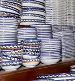 Recuerdos locales tradicionales en Jordania, Oriente Medio Fotos de archivo libres de regalías