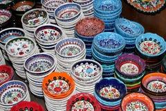 Recuerdos locales tradicionales en Jordania, Oriente Medio Foto de archivo