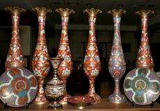Recuerdos locales tradicionales en Jordania, Oriente Medio Imágenes de archivo libres de regalías
