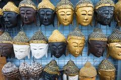 Recuerdos tailandeses de las máscaras Foto de archivo libre de regalías