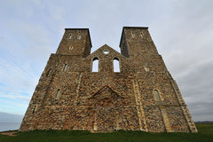 Reculver. Ancient roman monument kent Stock Image