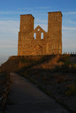 Reculver. View of church ruins at Reculver, Kent, England Royalty Free Stock Image